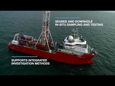 Fugro Scout Geotechnical Vessel