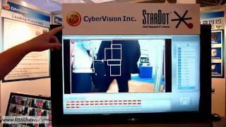 CyberVision StarDot IP cameras DSSLNews IFSEC 2010