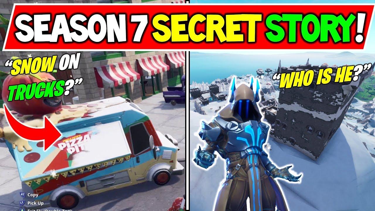 New Fortnite Season 7 Storyline Explained Secrets Solved The