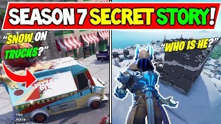 *NEW* FORTNITE SEASON 7 STORYLINE EXPLAINED! + Secrets Solved! (The Ice King Storyline Explained!)