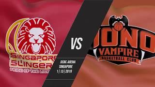 Singapore Slingers v Hong Kong Eastern   Highlights   2018-2019 ASEAN Basketball League
