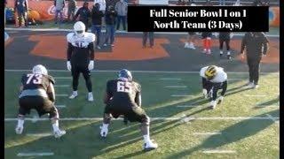2020 Senior Bowl O Line vs D line (North) || 3 Day Film Breakdown