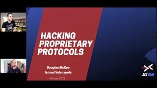 Think Red, Act Blue - Hacking Proprietary Protocols