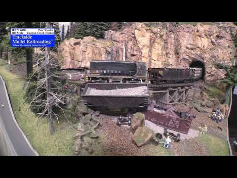 Railfan The Canyon Creek Timber Railway In HO Scale.