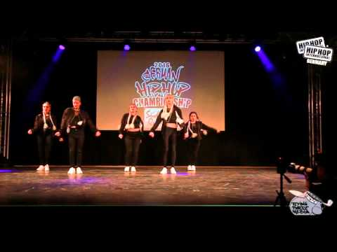 Creourum - German Hip Hop Dance Championship 2016 Süd/West Qualifier