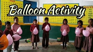Balloon activities for kids | Balloon activity videos | Balloon activity games for Children
