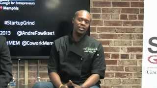Brandon Thomas (guilt Free Pastries) At Startup Grind Memphis