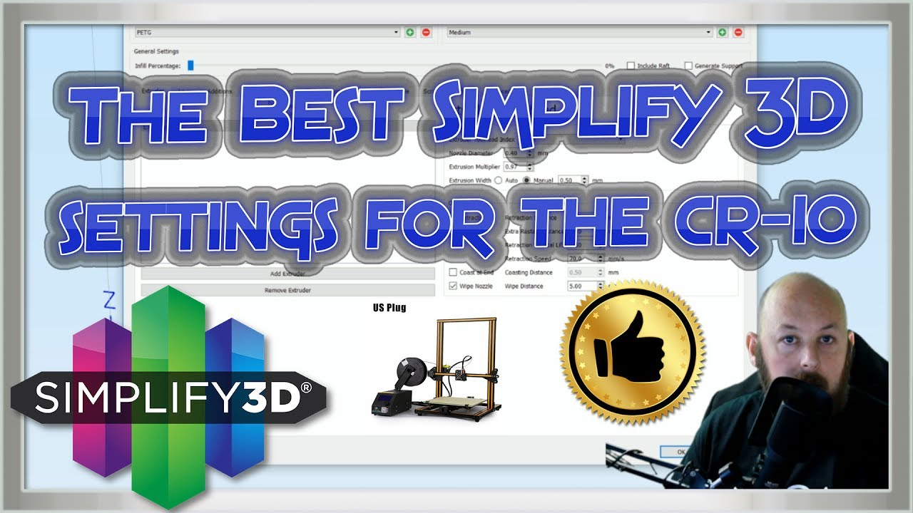 The Best Simplify 3D Settings for the Creality CR-10 With latest WORKING  discounts SEP 2017