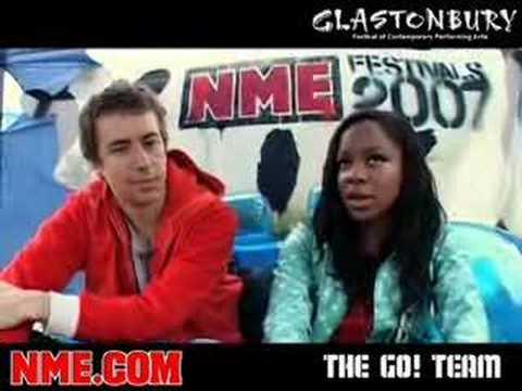 NME Video: The Go! Team @ Glastonbury Festival 2007