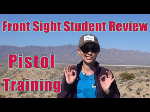 Front Sight Student Review Pistol Course | Class Review Pistol | Gun Shooting Lessons Review