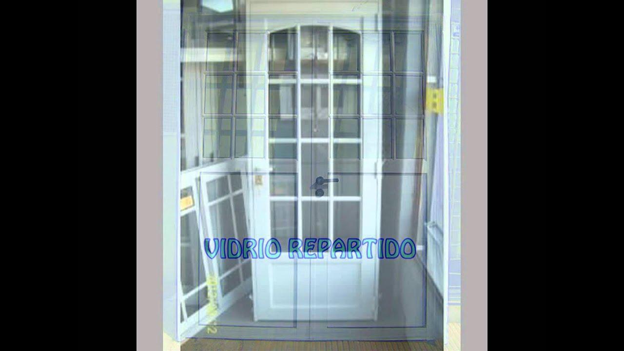Puertas principales de aluminio puertas de aluminio for Puertas de aluminio para entrada principal