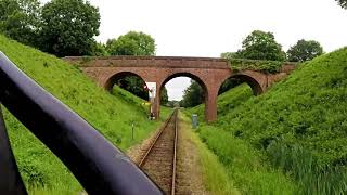 Bluebell Railway - Driver's Eye View - Sheffield Park to East Grinstead