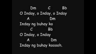 gloc 9 mknm inday ft cathy go lyrics and chords