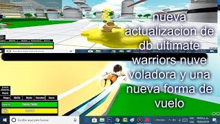 new update of db ultimate warriors roblox
