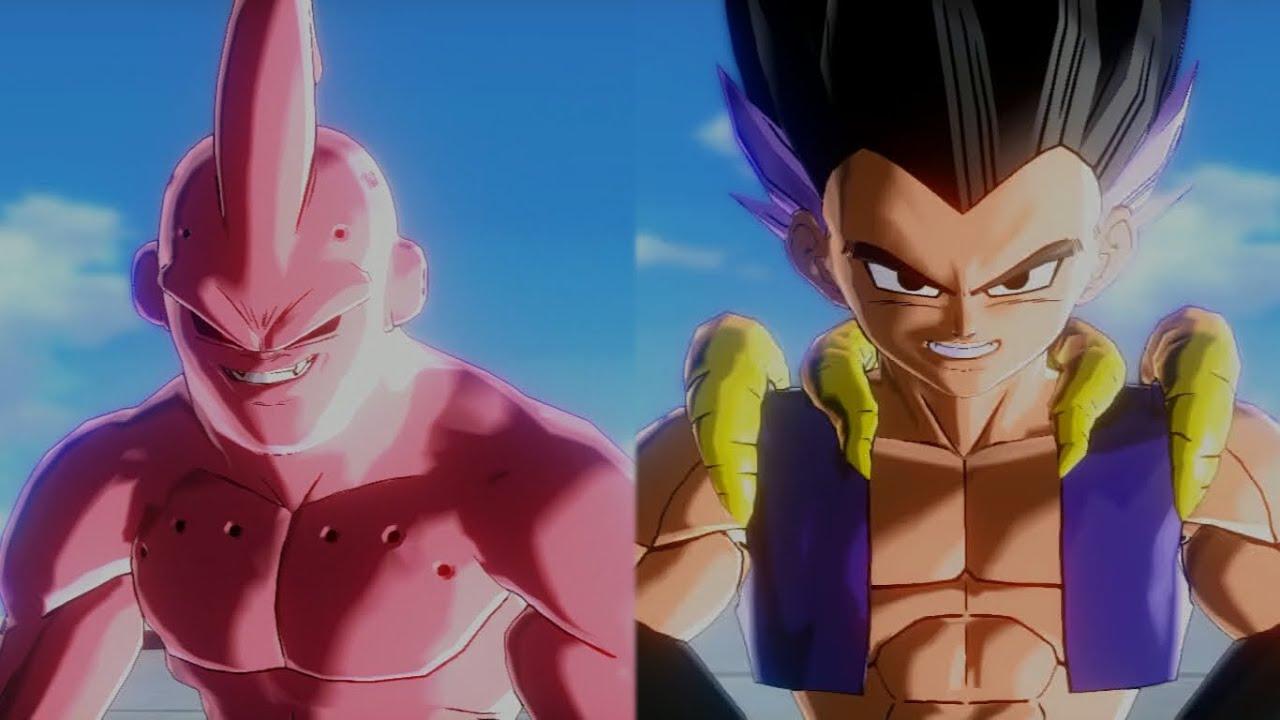 Gotenks Super Saiyan 3 vs Super Buu | Dragon Ball ...