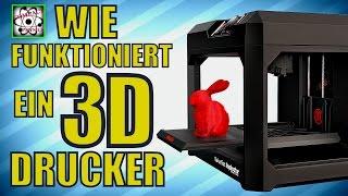 WIE FUNKTIONIERT EIN 3D DRUCKER? [Compact Physics]