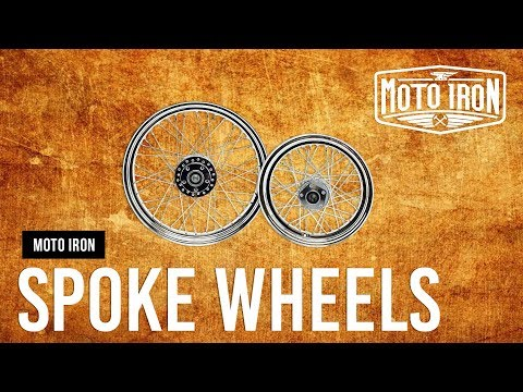 Moto Iron™ Spoke Wheels For Harley Davidson® Motorcycles