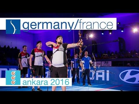 Germany v France – Recurve Men's Team Gold Final | Ankara 2016