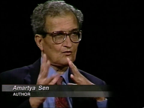 Amartya Sen interview on Charlie Rose (1999)