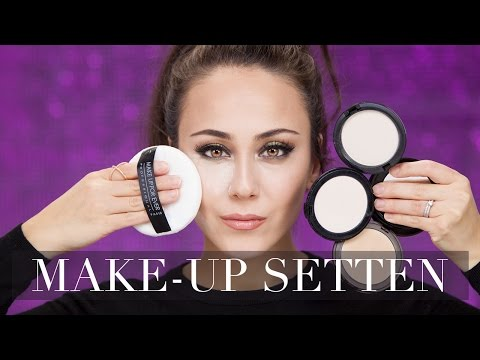 Puder richtig auftragen | Make-up setten | How to Puder |  Puder Make-up Basics #7 | Hatice Schmidt