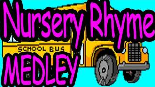 NURSERY RHYME MEDLEY- Nursery Rhymes Songs for Children - by The Learning Station