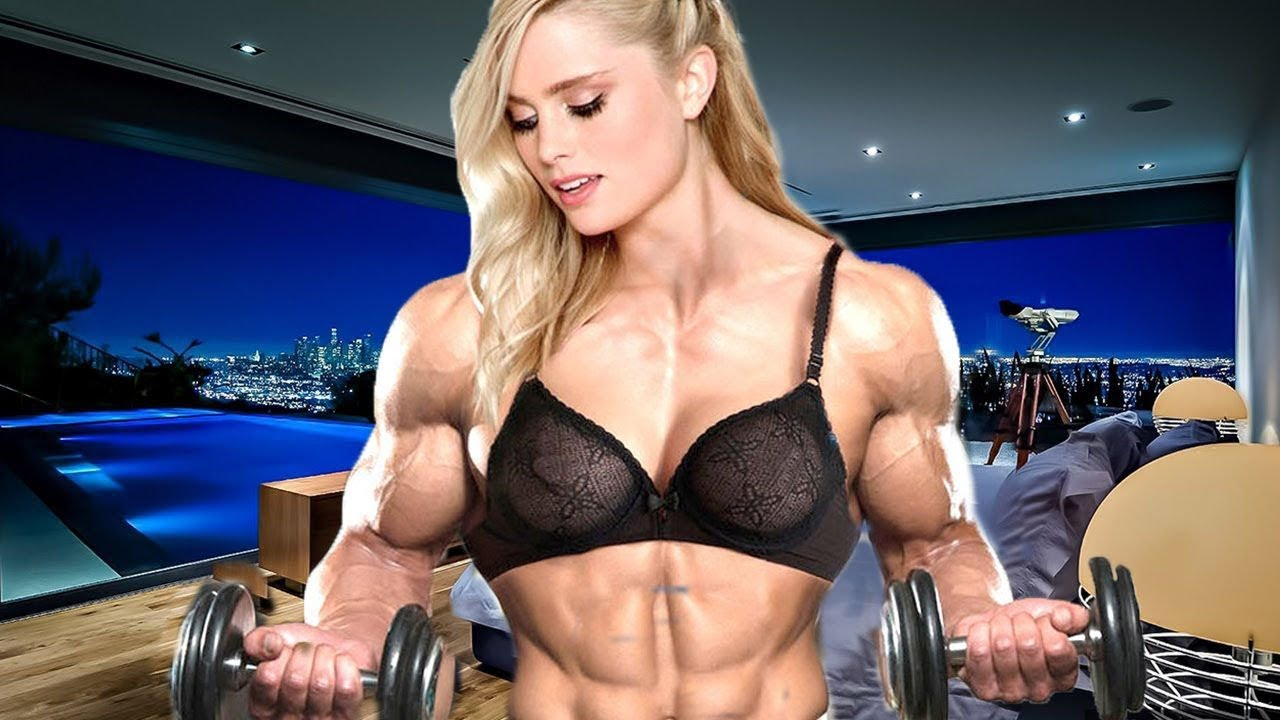 Body building woman sexy what that