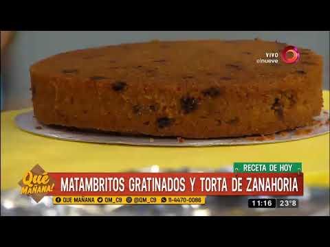 Receta dulce torta de zanahoria y chocolate youtube - Dulce de zanahoria ...