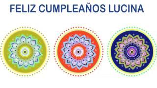 Lucina   Indian Designs - Happy Birthday