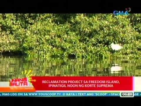 UB: Reclamation project sa Freedom Island, layon umanong palaguin ang ekonomiya ng Maynila