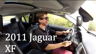 Hold My Tea: 2011 Jaguar XF Test Drive and Review