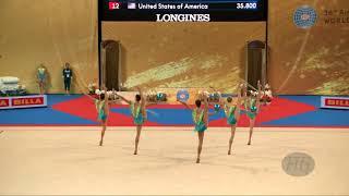 Hungary (HUN) - 2018 Rhythmic Worlds, Sofia (BUL) - Qualifications 3 Balls + 2 Ropes