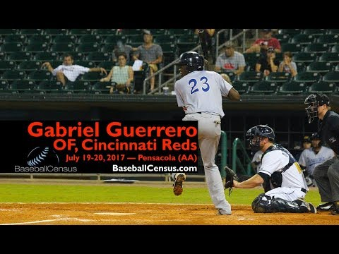 Gabriel Guerrero, OF, Cincinnati Reds — July 19-20, 2017