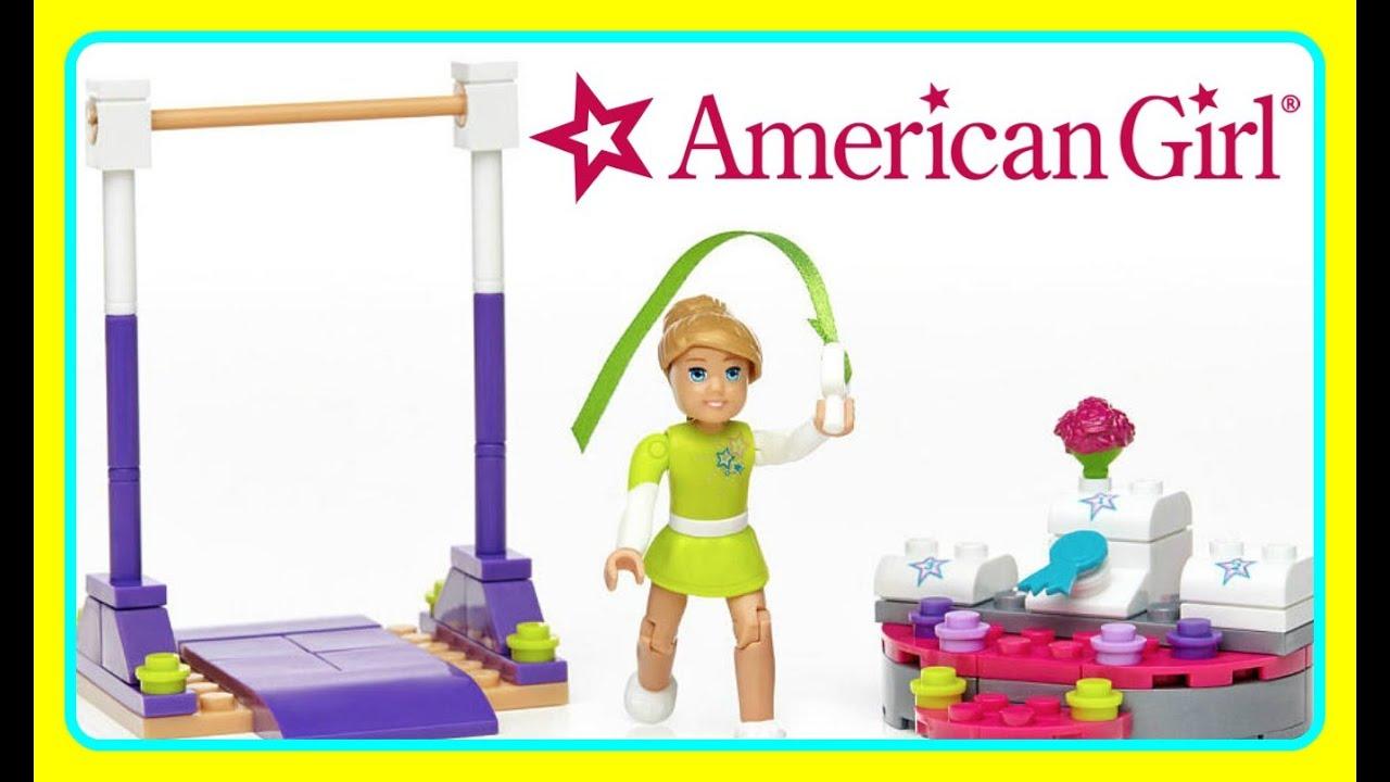 American Girl Mega Bloks Mckenna S Gymnastics Training New 2016 American Girl Toy Kids Video