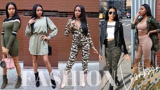 WATCH ME SLAY THIS GREEN! FASHION LOOKBOOK