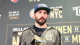 Bellator 180: Ryan Couture Relieved with Win Over Gozali, Felt MMA Career was in Jeopardy
