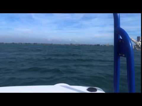 Tiburon ZX-22 running Offshore