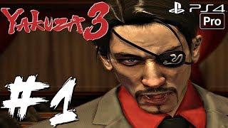 YAKUZA 3 Remaster - Gameplay Walkthrough Part 1 - Demo (PS4 PRO)