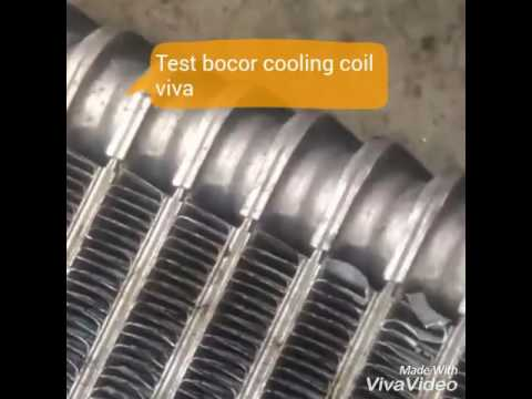 Cooling Coil Bocor Youtube