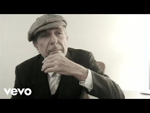 Leonard Cohen - Because Of (VIDEO)