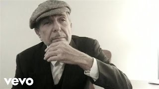 leonard cohen because of
