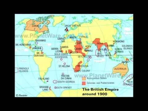 British Empire Map 1900.British Empire Commonwealth Youtube