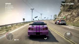GRID 2 PC Multiplayer Race Gameplay: Tier 2 Upgraded Nismo Skyline R34GT-R Z-Tune in California