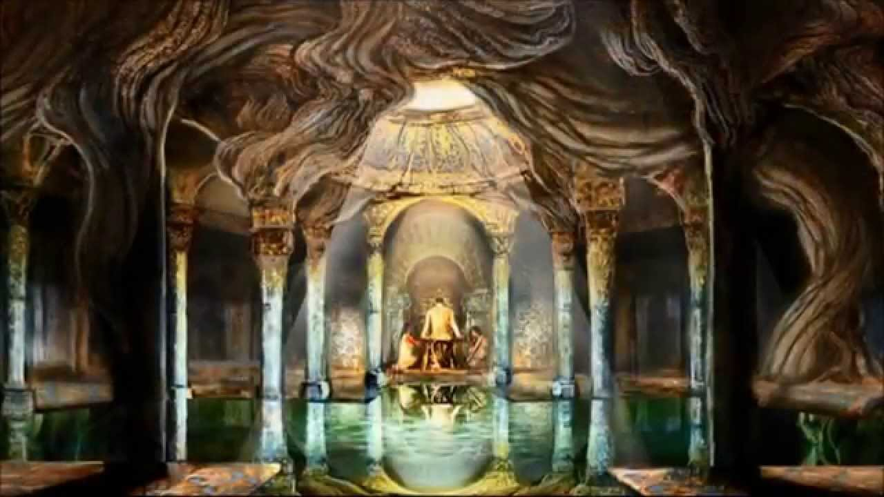 Interactive Anime Wallpaper The Woodland Realm The Throne And The Palace Of