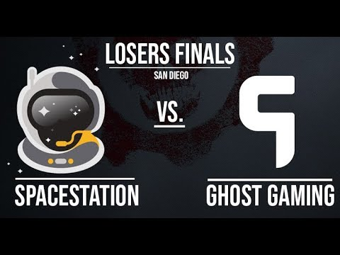 SpaceStation Gaming vs Ghost Gaming |  Losers Finals | San Diego Championship Sunday | 9.30.18