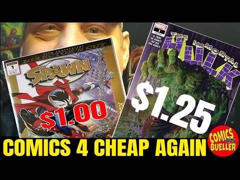 More Cheap Comics With Bueller - Comic HUB ? - Comic book haul and more