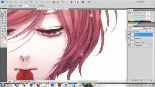 How to edit blonde hair(anime) - part 1
