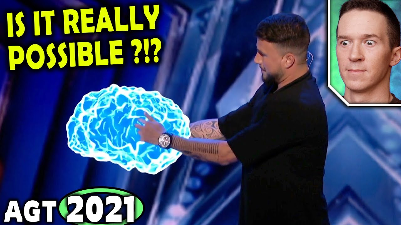 Magician REACTS to Kevin Micoud INSANELY VISUAL Magic on America's Got Talent 2021