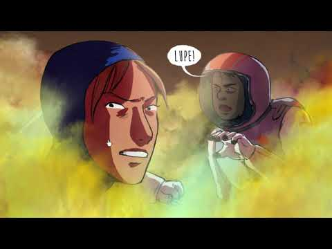 Mars Oddity, the scifi interactive comic