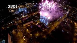 МУРМАНСК 100 лет!   -Лазерное шоу и салют - Официальная полная версия