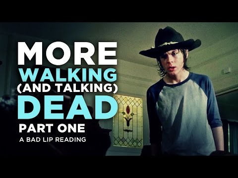"Thumbnail: ""MORE WALKING (AND TALKING) DEAD: PART 1"" - A Bad Lip Reading of The Walking Dead Season 4"